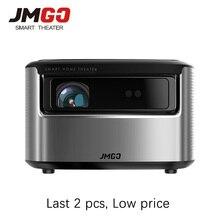 JMGO N7 מלא HD מקרן 1300 ANSI Lumens 1920*1080P חכם מקרן WIFI Bluetooth HDMI USB תמיכה 4K LED טלוויזיה DLP Proyector