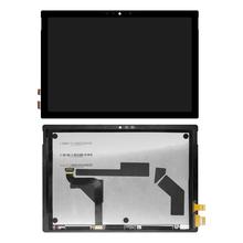 Oryginalny wyświetlacz 12 3 #8222 dla Microsoft Surface Pro 7 wyświetlacz LCD moduł digitizera ekranu dotykowego dla Microsoft Surface Pro 7 tanie tanio Sinbeda For Microsoft Surface Pro 7 Ekran dotykowy Black no lightspot and no scratch No dead pixels Guangdong China (Mainland)