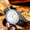 Gaivota homens Mecânicos relógios de Pulso do Negócio assista 50m Fivela De Couro À Prova D' Água Calendário Masculino Relógios relógio Casal 819.613