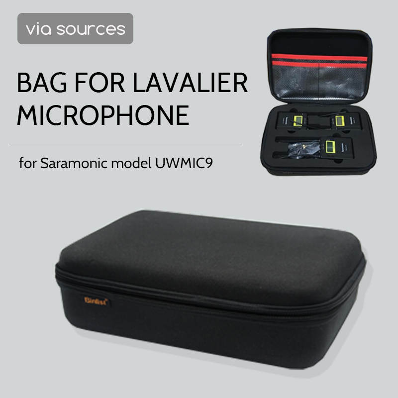 Bag Accessories Microphone Cover Microphone Amplifier Camera Bag Wireless Microphone For Saramonic UWMIC9
