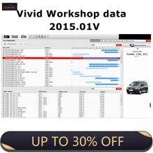 Mais recente atualização de dados da oficina vívida para 2015.01 software de reparação automóvel coleção software de reparação de automóveis oficina de garagem dados automotivos