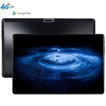 10.1 pouces 2.5D tablette écran mutlti tactile Android 9.0 Octa Core Ram 6GB ROM 64GB caméra 5.0 MP tablette PC Wifi 10 tablette pc S119