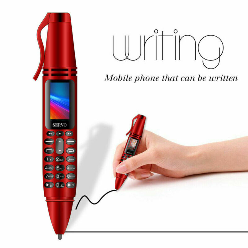 Mini Pen Cellphone GSM Dual-SIM Camera Mobile Phone Flashlight Portable Bluetooth Dialer Mobile Phone Camera Remote Controller