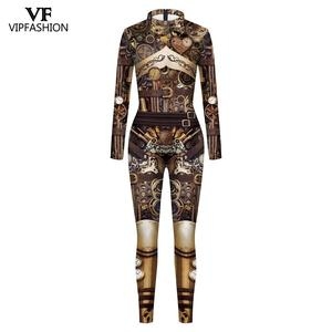 Image 2 - VIP FASHION High Quality New Long Sleeve Zipper Suit Cosplay Costume Steampunk Party Costumes Cosplay