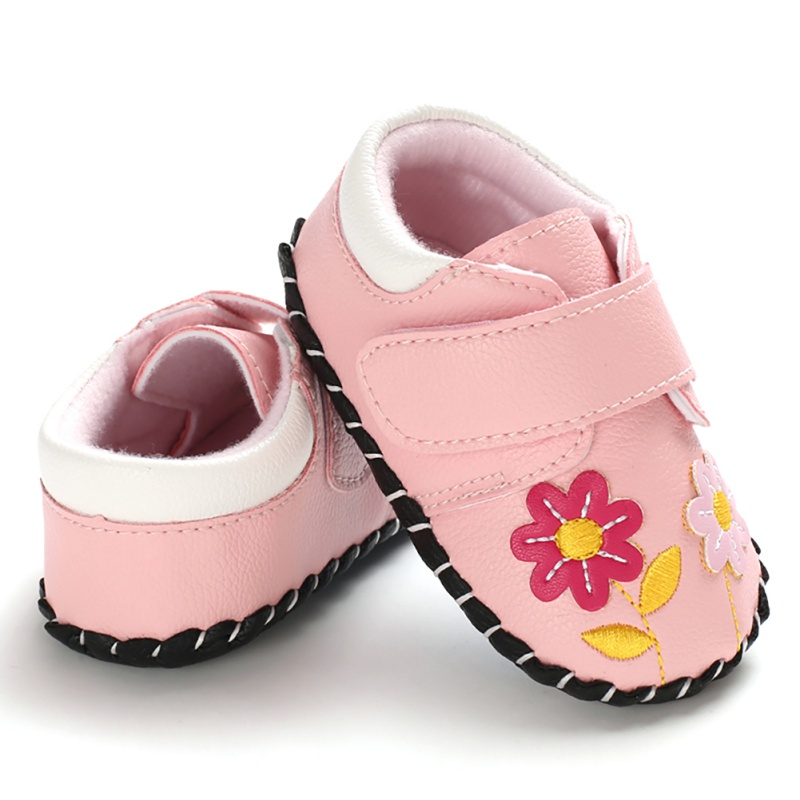 Hilittlekids Toddler Infant Kids Baby Girls Cartoon Anti-slip Shoes Soft Sole Squeaky Sneakers