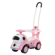 Baby Car Toy For Children Can Take  Roller 1-3 Years Old Guardrail Children's entertainment exercise bike