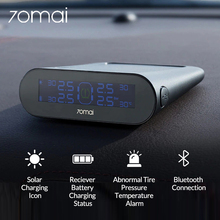 70mai רכב TPMS צמיג לחץ ניטור מערכת שמש כוח בנק צמיג מד לחץ דיגיטלי צמיג לחץ חיישן APP בקרה
