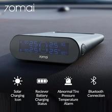 70mai voiture TPMS système de surveillance de la pression des pneus batterie portable solaire jauge de pression des pneus numérique capteur de pression des pneus APP Control