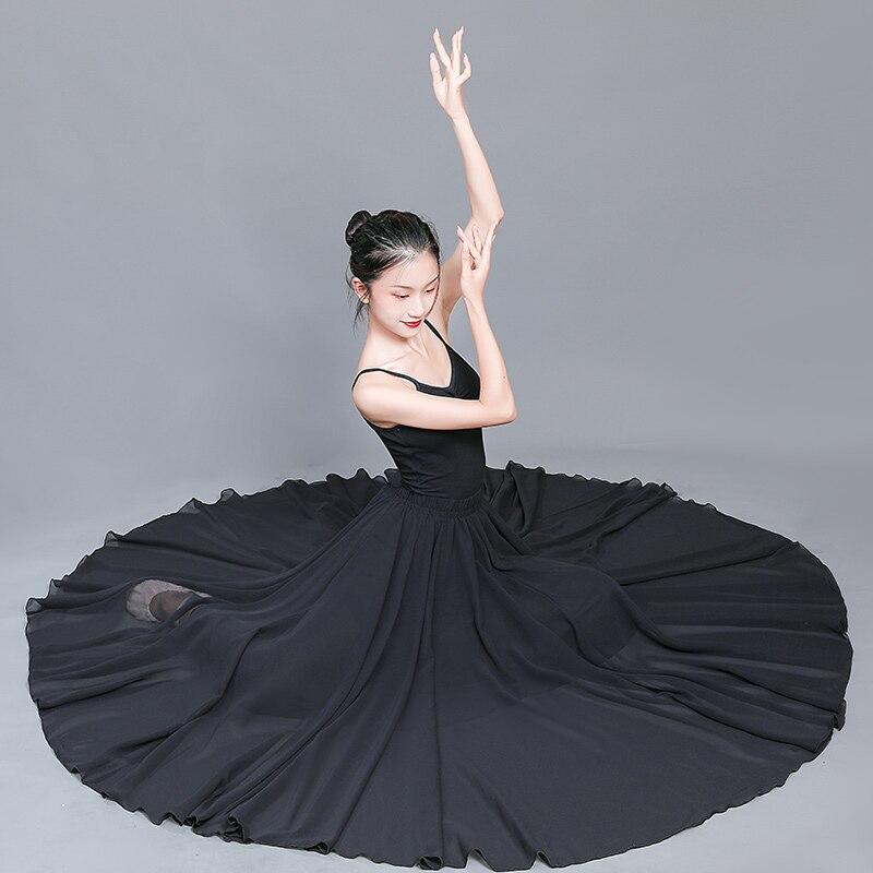 2021 Fairy Flamenco Skirt For Women Classical Dance Costume Spanish Bullfight Dance Wear Stage Costume Gypsy Dress Long Skirt