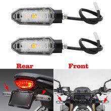 Motorrad Hinten Vorne LED Blinker Anzeige Licht Lampe Für Honda CBR650R CB650X CB650F CB125R CB250R CB300R CB650R 2019 2020