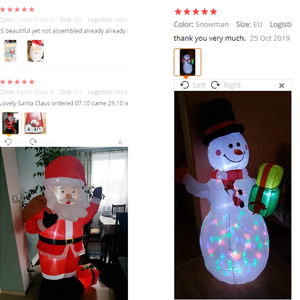 Image 5 - 1.8M LED nadmuchiwany św. Mikołaj bałwanek mikołaj z dmuchawą ogród układ na zewnątrz dekoracje świąteczne rysunek klasyczne zabawki dla dzieci