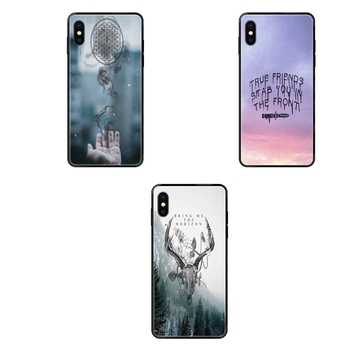 Art Diy Luxury Black Soft Phone Case Bring Me The Horizon British Metalcore Bmth Sell For Xiaomi Mi Max Mix Note 2 3 2S 5X 6X image