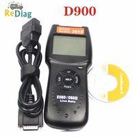 Profissional d900 v2015 obd2 eobd scanner de diagnóstico do motor carro código falha varredura d 900 scanner diagnóstico versão 2015