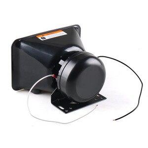 Image 2 - 12V 200W 8 Tones Loud Car Warning Alarm Police Siren Horn Speaker PA with MIC System