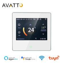 AVATTO WiFi inteligente controlador de temperatura termostato eléctrica de agua de calefacción de la caldera de Gas de agua con Tuya aplicación remota de Control