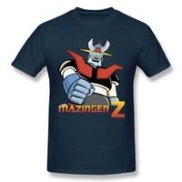 Cool Mazinger Z Robot T Shirt per uomo nuova manica corta Anime o-collo Tee Shirt High Street Vaporwave moda abbigliamento uomo