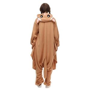 Image 2 - HKSNG Animal adulto Kigurumi Flying Squirrel Onesies fiesta Halloween pijama de ratón Cosplay Chipmuck disfraces ropa de dormir mono