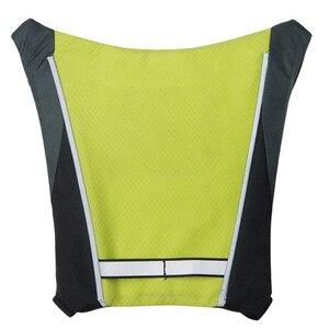 Led ciclismo saco/mochila widget com controle remoto indicador de direção de sinal de volta reflexivo-impermeável, seguro para bicicleta