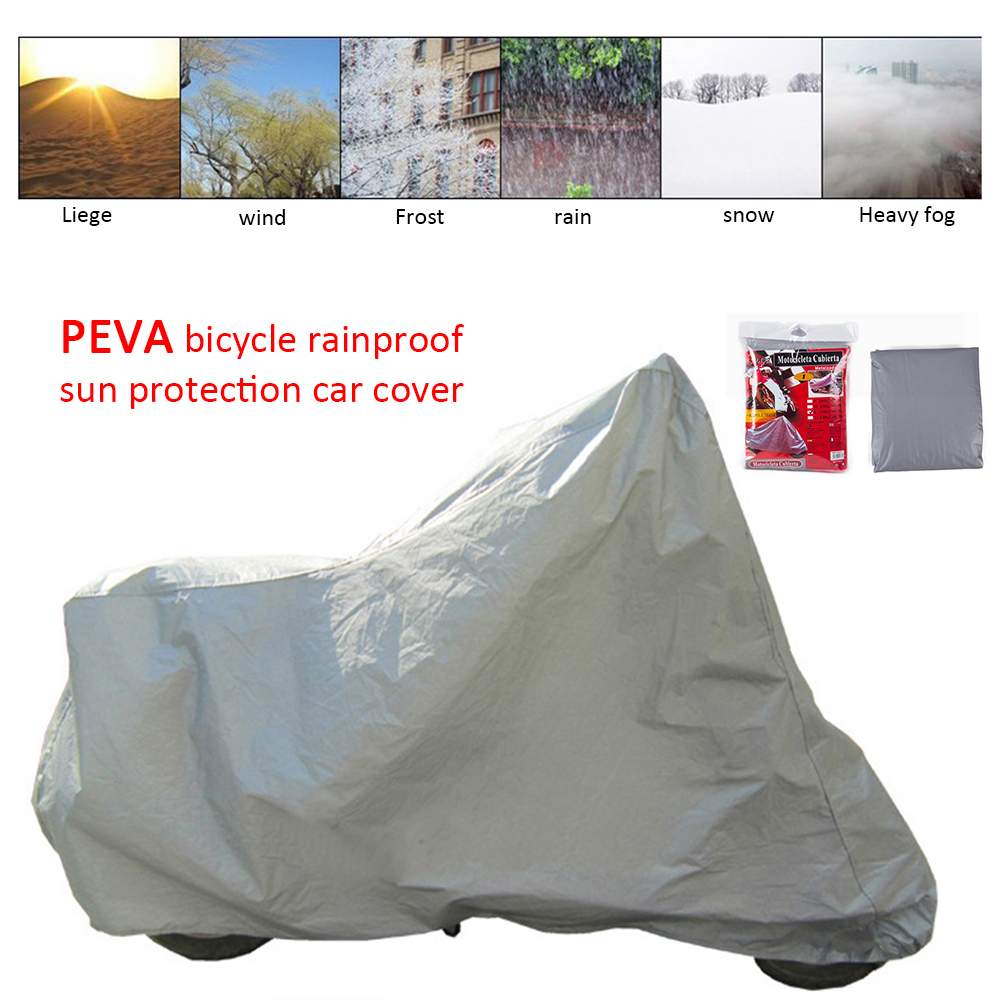 4 Size S/M/L/XL Bicycle Cover Rainproof  Snow Dust Sunshine Protective Motorcycle Bicycle Cover Waterproof UV Protection Cover