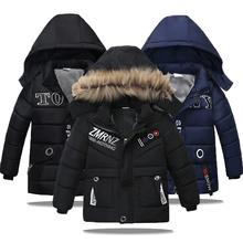 Kurtki dla dzieci 2020 jesień kurtki zimowe dla chłopców płaszcz dzieci ciepłe kurtki płaszcz dla chłopców kurtka maluch chłopcy ubrania 2-5 lat tanie tanio KEAIYOUHUO Moda Poliester COTTON List REGULAR Z kapturem Kurtki płaszcze Pełna Pasuje prawda na wymiar weź swój normalny rozmiar