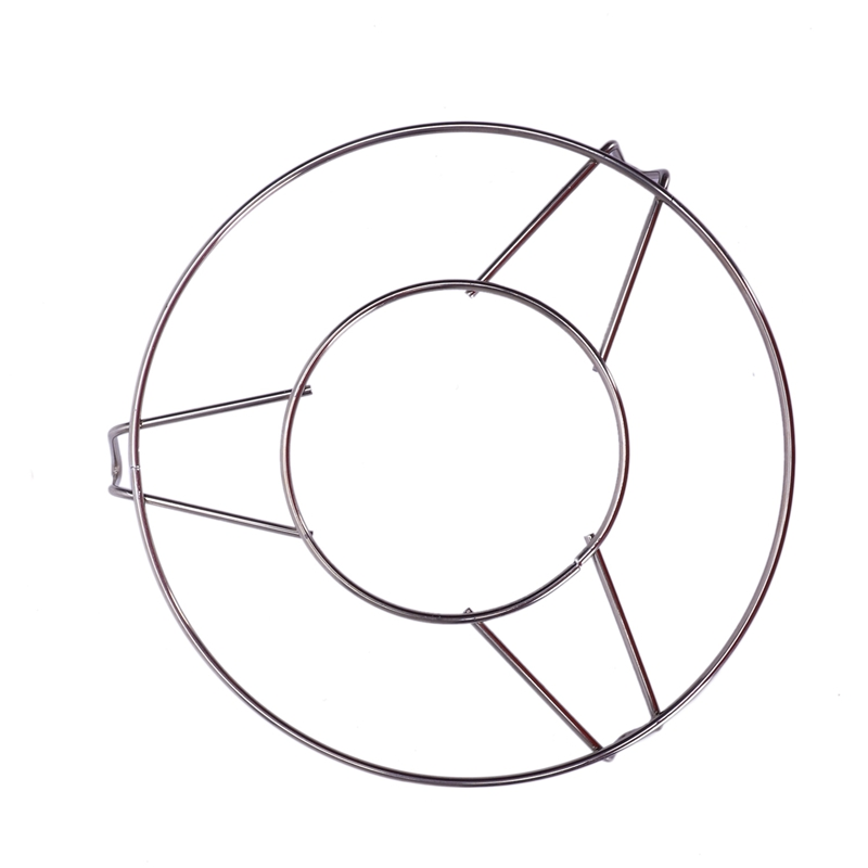 Stainless Steel Round Steamer Rack Stand 6 Inch Diameter 2 Pcs