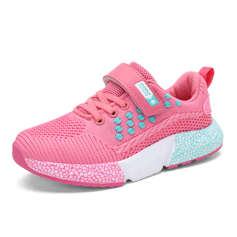 2019 Spring Autumn Children Shoes Boys Girls Sports Shoes Brand Breathable Outdoor Kids Sneakers Boy Running Shoes 807 EUR28--38