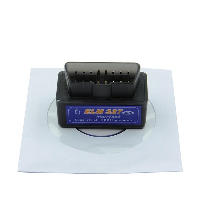 HOT!! OBD mini ELM327 Bluetooth OBD2 V2.1 Auto Scanner OBDII 2 Auto ULME 327 Tester Diagnose-Tool für Android Symbian Windows-