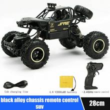 4WD RC Monster Truck Off-Road Vehicle 2.4G Remote Control Buggy Crawler Car 1 12 mn 90k rc crawler car 2 4g 4wd remote control big foot off road crawler military vehicle model rtr remote control truck toy