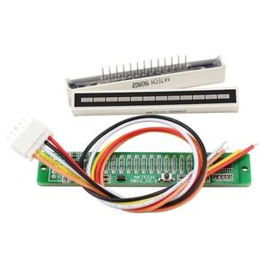 Image 2 - Atualizado v1.0 24 led nível indicador placa dinâmica sensível para vu metro tubo amplificadores alto falante acessórios kits diy dc12v