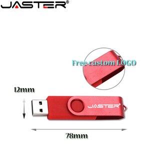 Image 1 - 100% di capienza reale di plastica pen drive 4GB 8GB 16GB 32GB scheda di Memoria usb della Parte Girevole flash drive pendrive bastone di memoria USB creativo