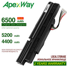 11.1V 4400mAh סוללה למחשב נייד עבור Acer Aspire TimelineX 5830TG 4830TG 3830TG 3830T 4830T 5830T 3INR18 /65-2 AS11A3E AS11A5E(China)