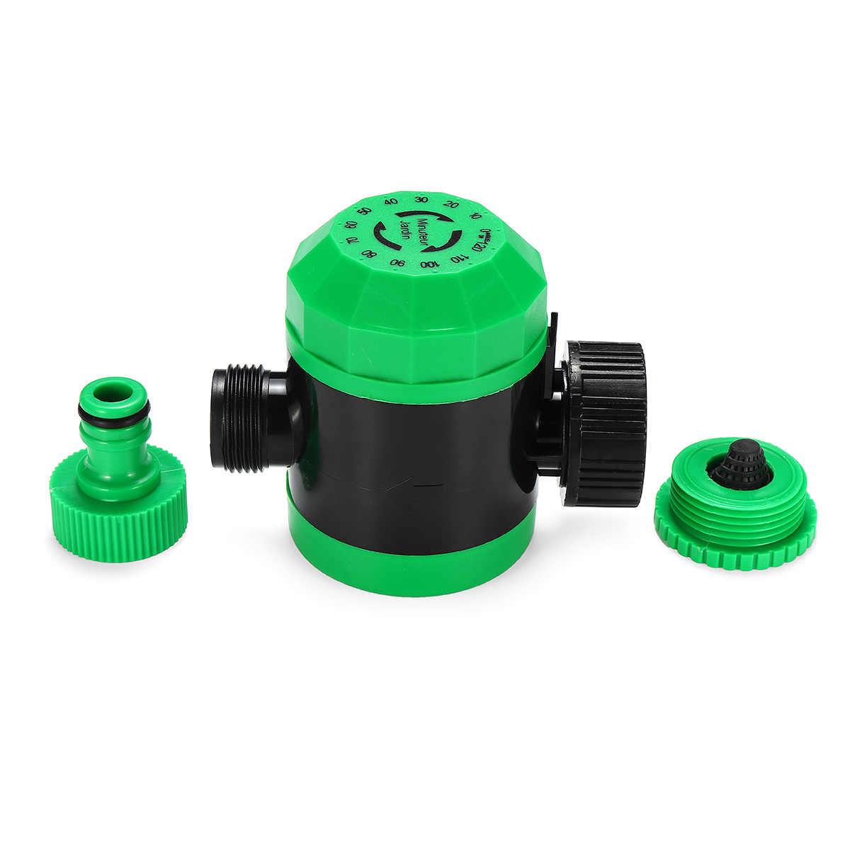 Otomatis Elektronik Rumah Ball Valves Air Timer Taman Penyiraman Timer Irigasi Controller Sistem Selang Taman Kit