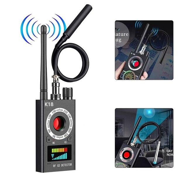 K18 Multi-Function Anti Detector Bug Detector Signal Camera Detector BUG Spy Detector RF Tracker GPS Locator Wireless Device 2