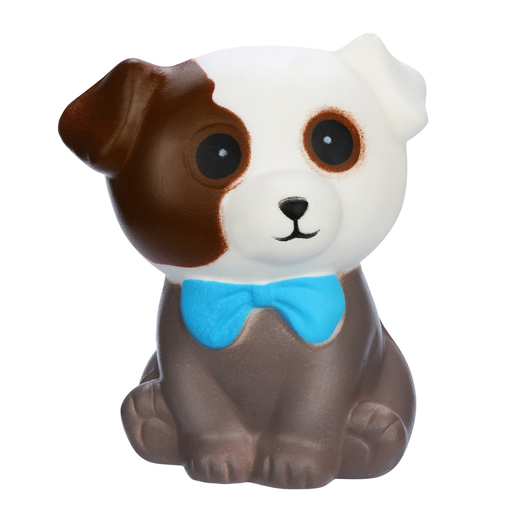 Adorable Puppy Slow Rising Stress Relief Toys Decompression Stress Soft Squeeze Fun Toys Antistress Kids Toys #A