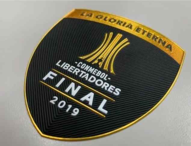 Emblema final do remendo dos campeões do remendo de 2019 conmebol libertadores