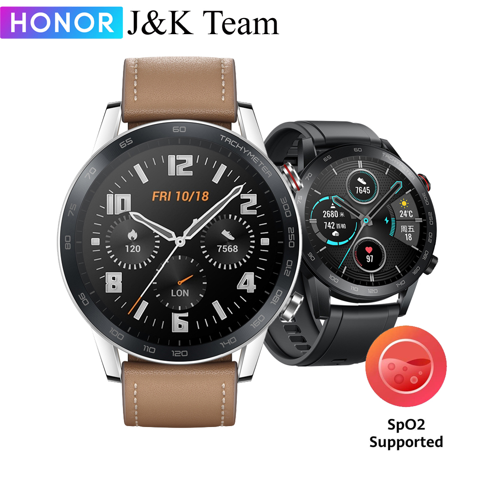 HONOR MagicWatch 2 46MM Smartwatch, Bluetooth 5.1 Magic Watch Smartwatch ,14 Days Battery Life,Phone Call Heart Rate