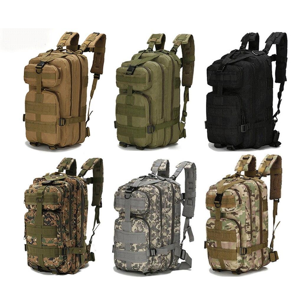 Military-Backpack Rucksacks Hunting-Bags Trekking Army Fishing Tactical Waterproof Outdoor Sports