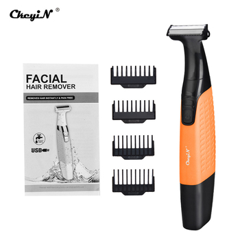CkeyiN Unisex Electric Hair Removal Razor USB Rechargeable Epilator  Nose Eyebrow Hair Trimmer Cordless No Pain Hair Shaver