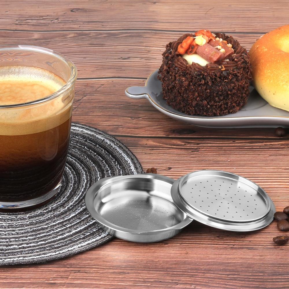 Reusable Coffee Capsule For Philips Senseo System Coffee Machine Eco-friendly Refillable Pods Espresso Crema Maker