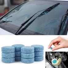 10 pçs carro pára-brisa líquido de limpeza efervescente comprimidos detergente compacto lavadora de vidro ferramenta beleza carro accessaries carro limpeza
