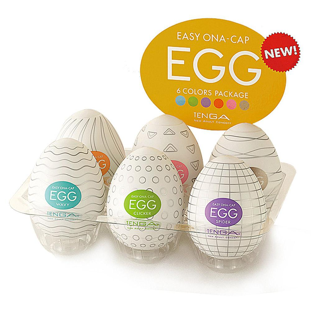 TENGA Eggs Male Masturbator Realistic Vagina Big Dildo Adults G-spot Sexy Toys Stimulating Penis Massager Sex Shop Masturbation