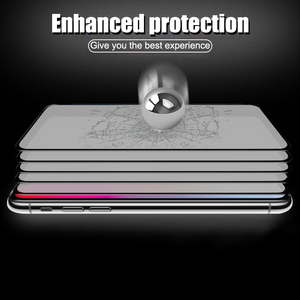 Image 4 - 5000D Full Curved Glass on For iPhone SE 2020 11 Pro XS MAX XR X Screen Protector Tempered Glass For iPhone 7 8 6 6s Plus Film