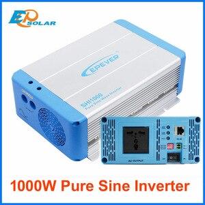 Image 1 - EPever Voltage Inverter 1000W 24V/48V DC Pure Sine Vawe Convert 220V230V AC Intelligent Voltage Converter Universal plug SHI1000
