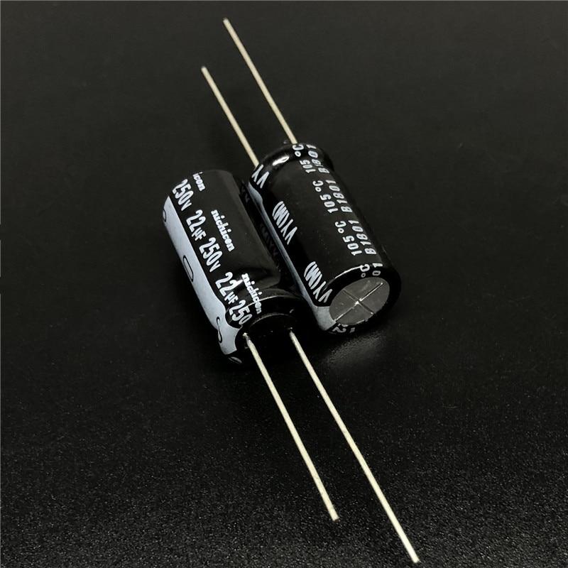 200pcs 22uF 250V JAMICON TX 12.5X20mm 250V22UF High Reliability capacitor