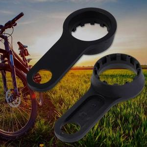 Bicycle Key Front Fork Wrench Repair Tool SR Suntour XCT XCM XCR Double Head MTB Bicycle Parts Accessories(China)