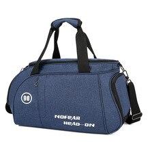 Gym-Bags Shoulder-Bag Nylon Large-Capacity Sport Waterproof Women New for Travel Unisex
