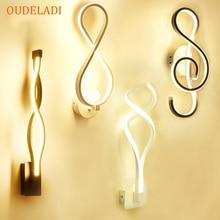 Led Bedroom Bedside Wall lamp Creative Simple Modern Lamp Art Wall lamp Acrylic  Corridor Staircase Lights