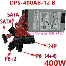 Neue Original NETZTEIL Für Delta 80plus Gold -12V ITX FLEX Kleine 1U S3 R47 K39 Bewertet 400W Spitzen 500W Netzteil DPS-400AB-12 B/17 B