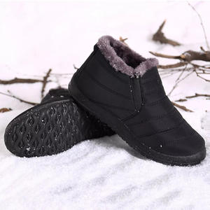 Shoes Snow-Boots Waterproof Warm Men for Fashion Casual D30 Fur-Lined Plush Thick Winter