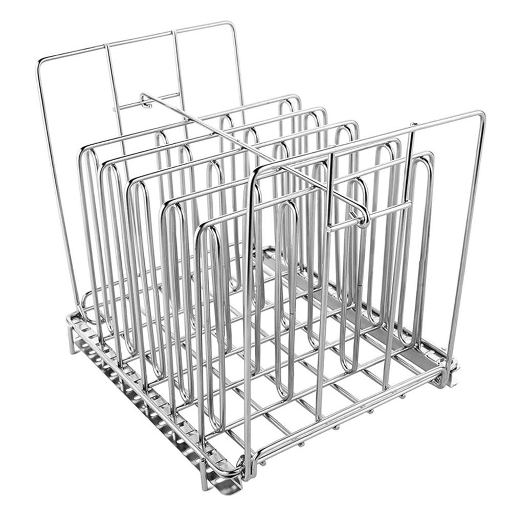 Stainless Steel Rack For Sous Vide Cooker Containers Detachable Dividers Separator for Immersion Circulators